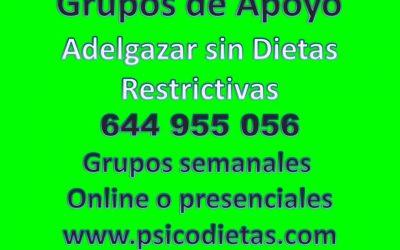 Grupos de Apoyo, para Adelgazar en Barcelona