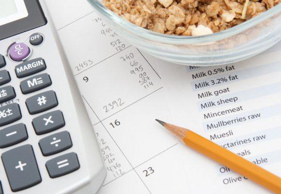 contando calorias para bajar de peso