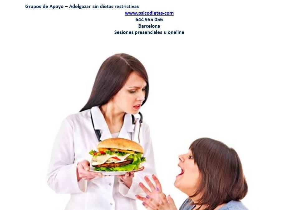 Mala relacion con la comida